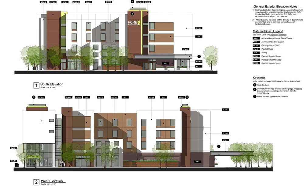 R L Davidson Architects Home 2 Suites Alameda