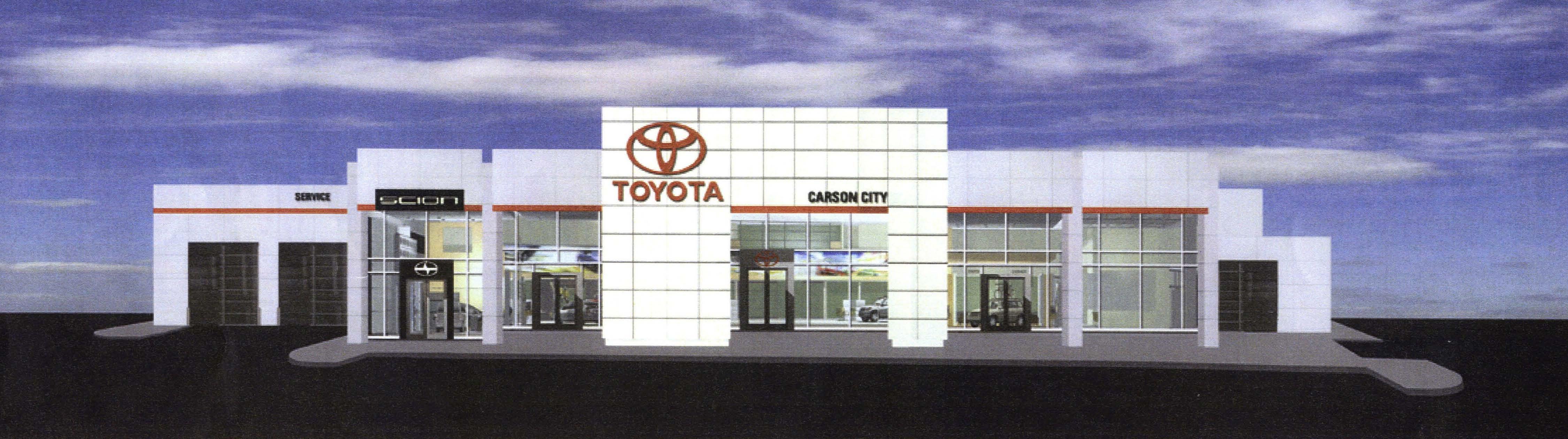 R L Davidson Architects Carson City Toyota