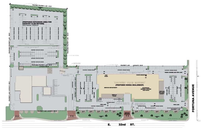 r l davidson architects country club honda location
