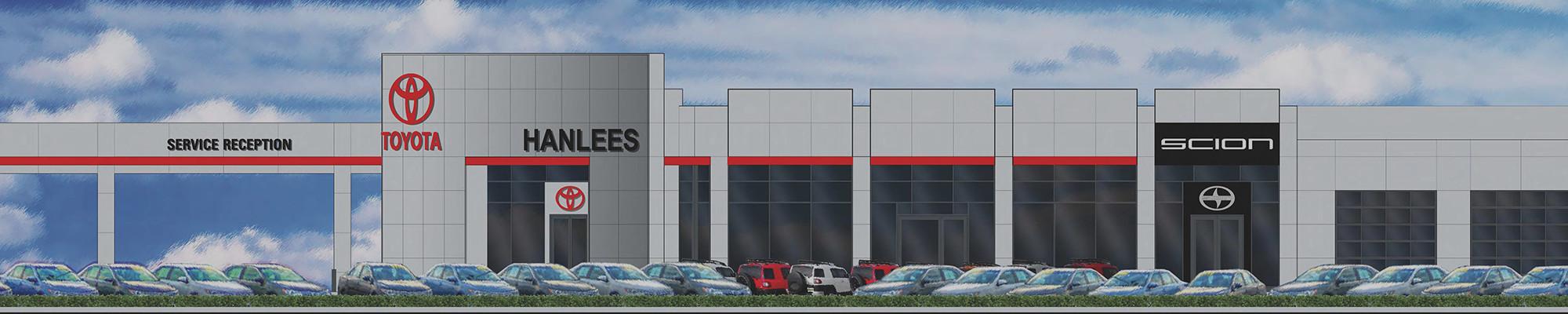 R L Davidson Architects Hanlees Hilltop Toyota