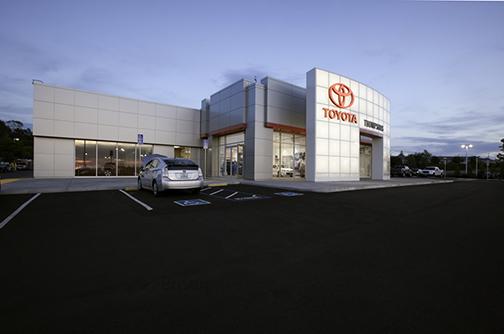 Thompson Toyota Placerville >> R L Davidson Architects Thompson Toyota