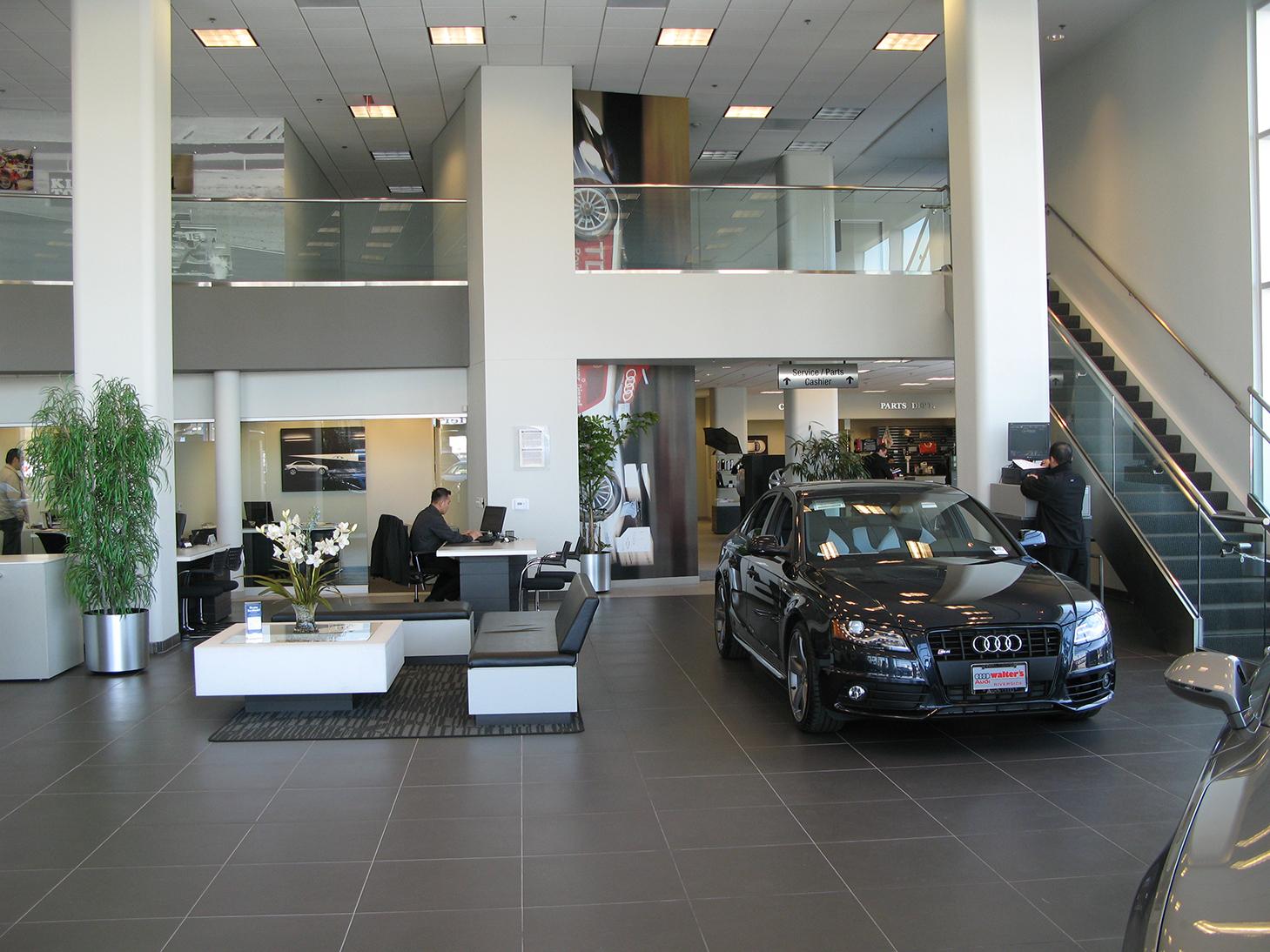 R.L. Davidson Architects   Walter's Porsche/Audi
