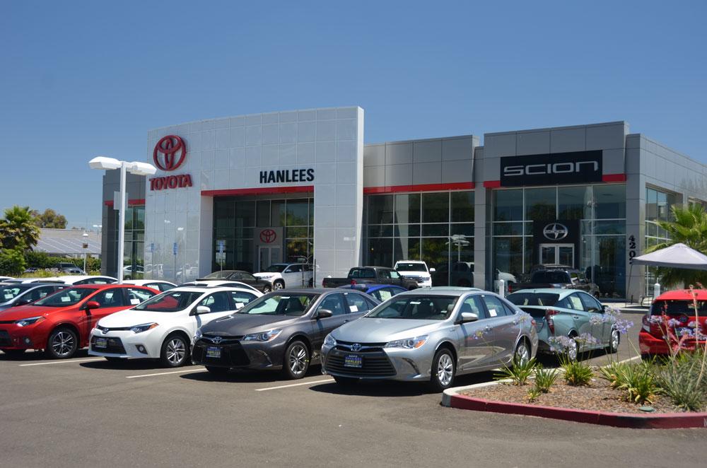 Hanlees Davis Toyota >> R.L. Davidson Architects | Hanlees Davis Toyota